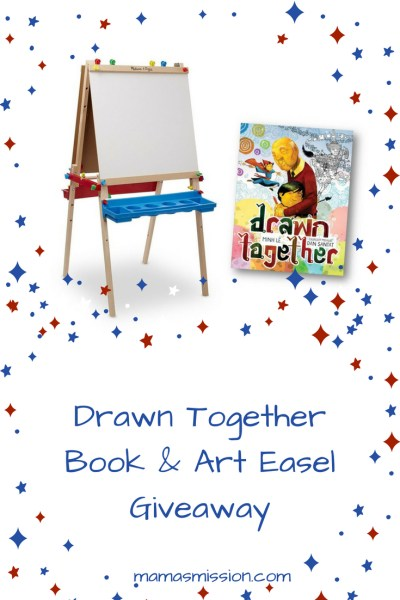 Drawn Together & Art Easel Prize Pack Giveaway Ends 6/25 Good Luck from Tom's Take On Things
