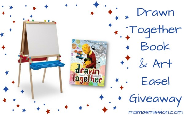 Drawn Together & Art Easel Prize Pack Giveaway
