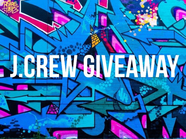 $100 J.Crew Gift Card Giveaway Ends 9/7 Good Luck from Tom's Take On Things