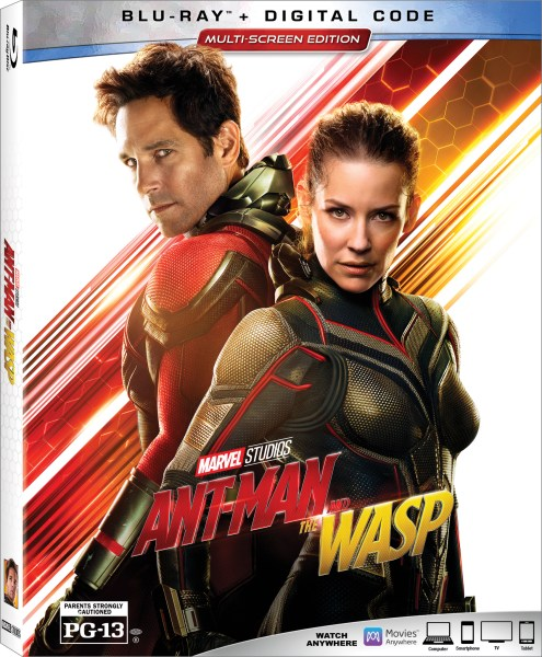 Ant-Man & The Wasp Blu-Ray Giveaway