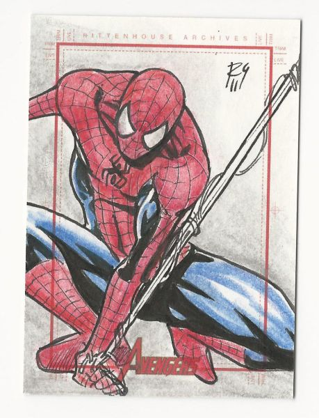 Sketch Card of the Day ~ Artist Rodjer Goulart ~ 2/23/2019 I love collecting these, what about you?
