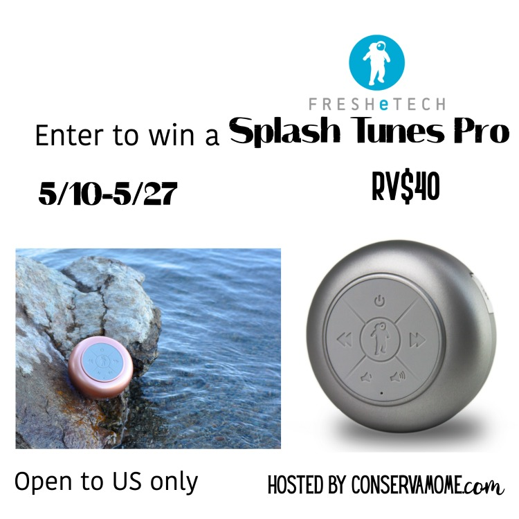 Splash Tunes Pro Speaker Giveaway ~ Ends 5/27 Good Luck from Tom's Take On Things