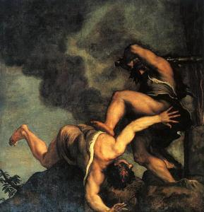 Cain and Able, Titian