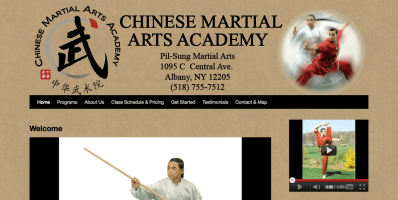 Chinese Martial Arts website