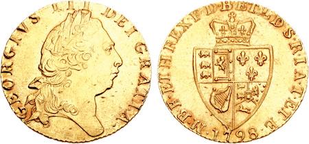 ジョージ三世のギニー金貨