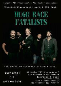 Concerto: Hugo Race Fatalists @ Circolo Arci Il Progresso