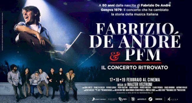 Fabrizio De Andre e PFM. Il concerto ritrovato