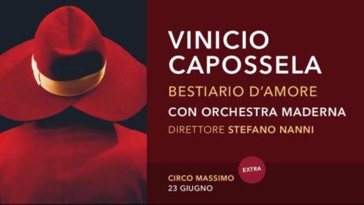 Concerto: Vinicio Capossela @ Circo Massimo, Roma