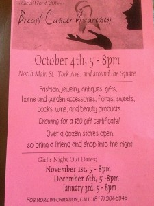 ladies, night out, weatherford, texas, york, st, ave, haywire collectibles, girls, october fest,