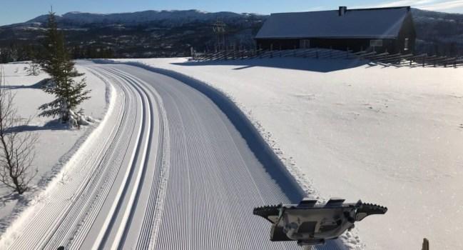 Informasjon om skiløypekjøring på Tomtvatnet