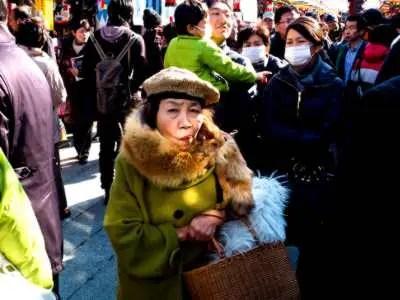日本大好き-外国人