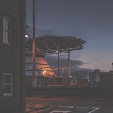 dusk over the port_0005