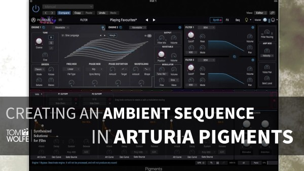 Creating A Patch In Arturia Pigments - Ambient Sequence