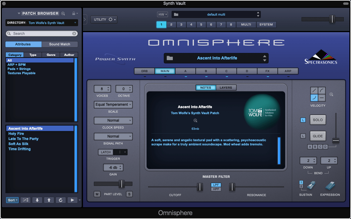 Synth Vault: Free Presets for Omnisphere