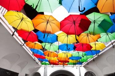 Deštníková střecha