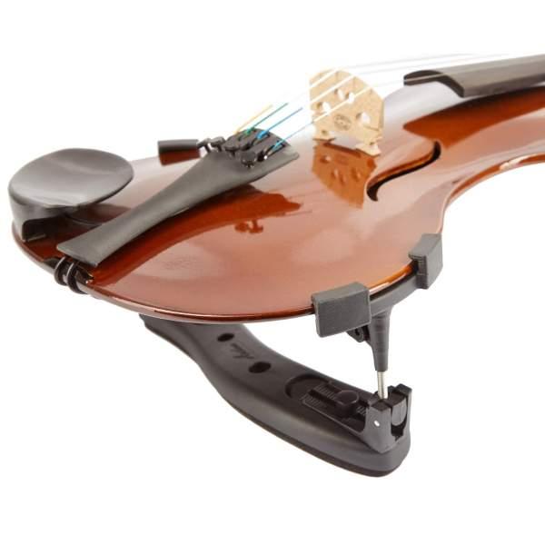 Produktbillede af el-violin med hvid baggrund