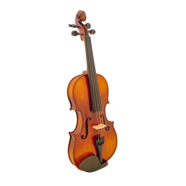 Produktbillede af violin med hvid baggrund