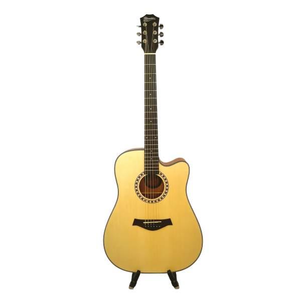 Forsiden af western guitar