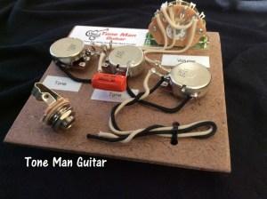 Stratocaster Fender Wiring Harness  Orange Drop Tone Cap