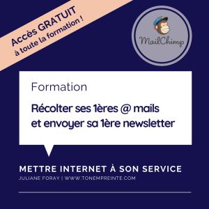 créer sa première newsletter