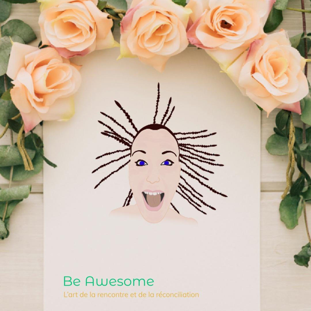 be awesome logo