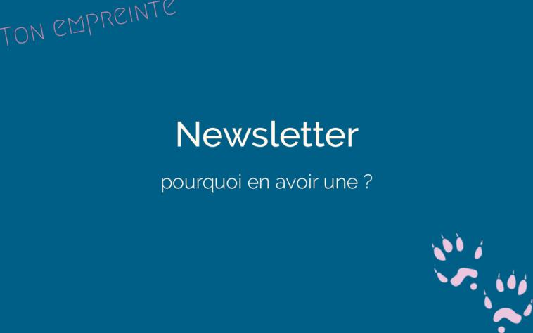 créer une newsletter 2 - ton empreinte