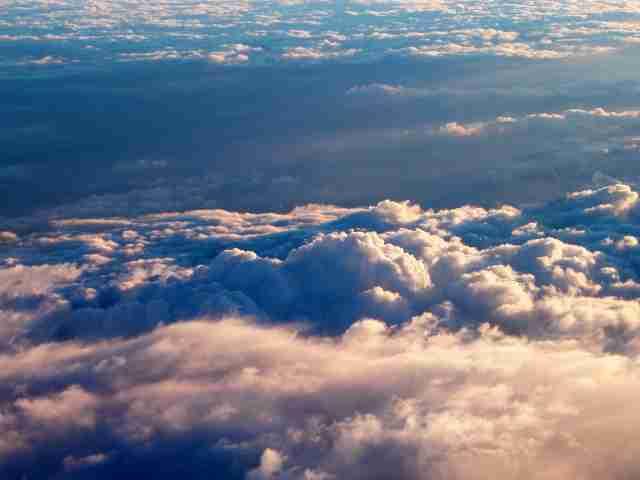 Nuvolaglie, nuvole, nubi, rotture di cazzo