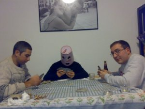 Giocare a carte con fenomeno