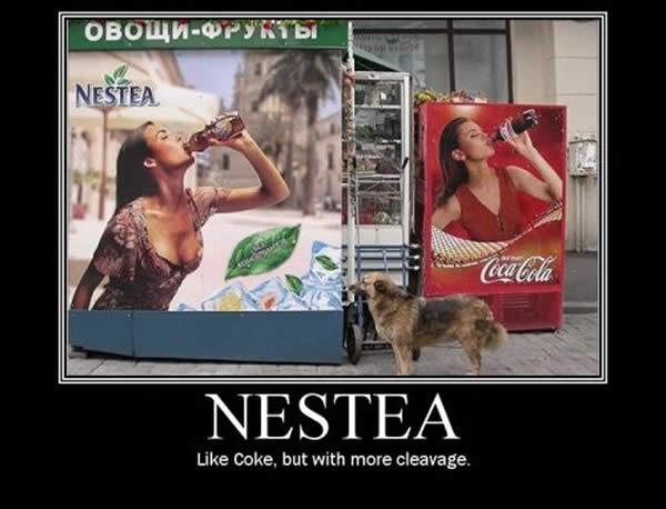 pubblicità che funzionano Nestea
