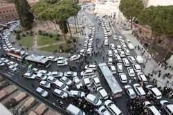 10012013: due giorni nel traffico di Roma