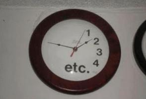 Etc-clock