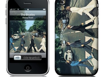 Abbey Road cover Iphone