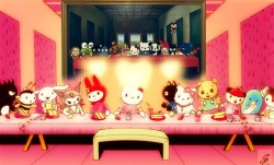 18042014: Ultima cena Hello Kitty