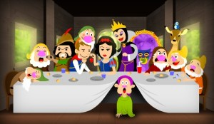 Snow White - The Last Supper by hiugo
