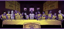 25092015: Ultima cena Los Angeles Lakers