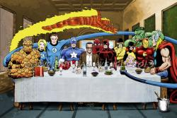 12022016: Ultima cena Marvel Jack Kirby