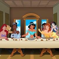 Ultima cena parodia principesse Disney