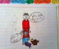Bambini che disegnano peni senza volere_ NON LO DEVI FARE
