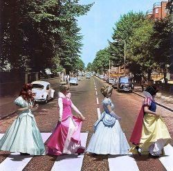 17052017: Abbey Road parody Principesse Disney dal vero