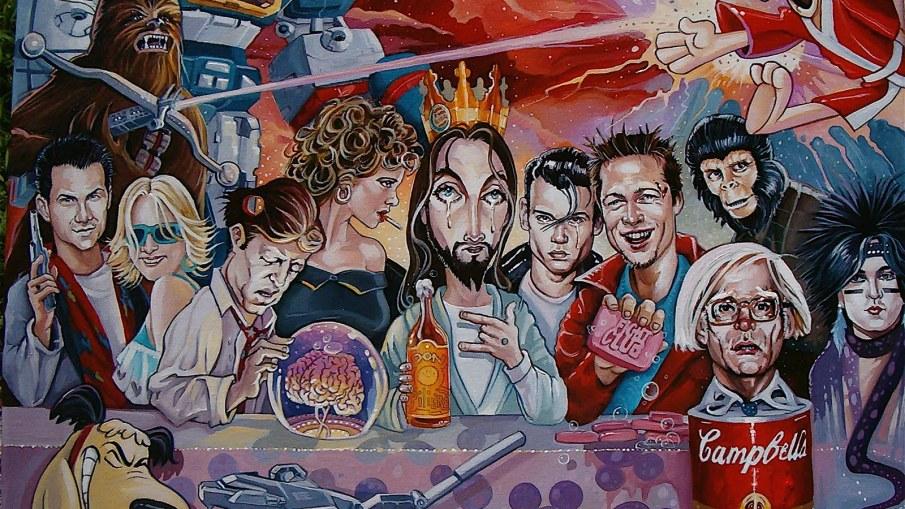 Pop Culture Last Supper