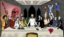10112017: Ultima cena Horror Last supper