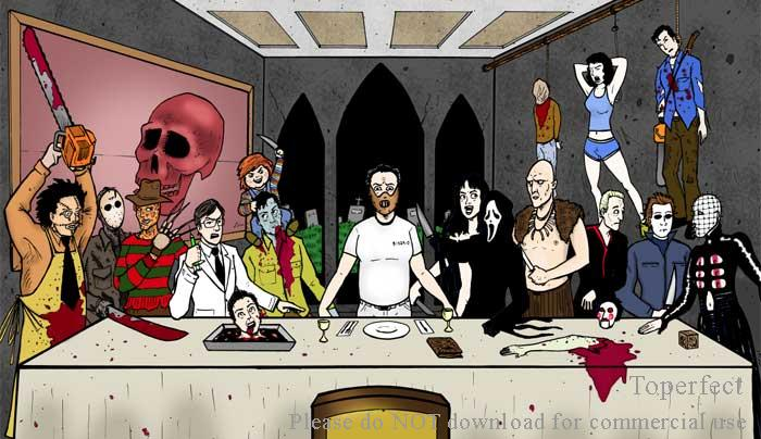 Horror Last supper