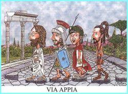 31012018: abbey road via Appia