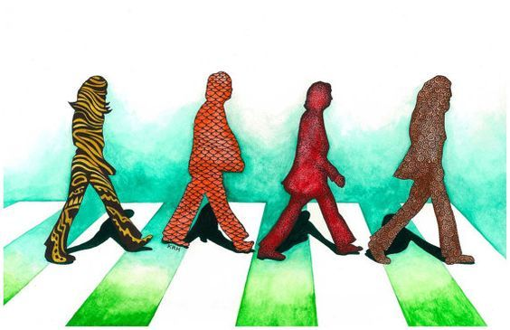 abbey road parody lisergic