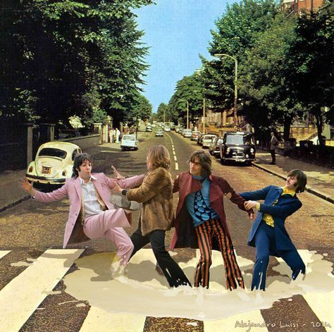 abbey Road parody infangati