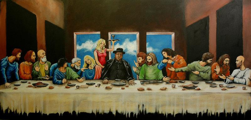 last supper notorius BIG