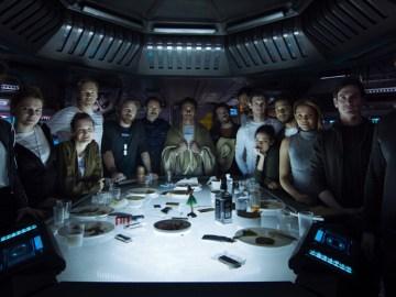 last supper alien covenant