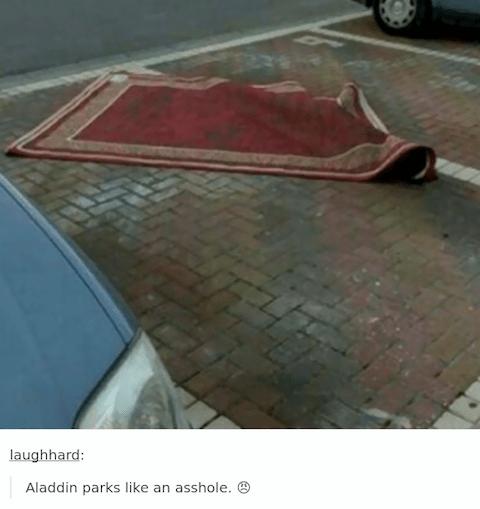 Aladino Parcheggio
