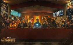 18052018: ultima cena last supper avengers infinity war
