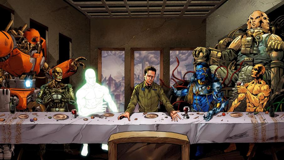 Supergod last supper